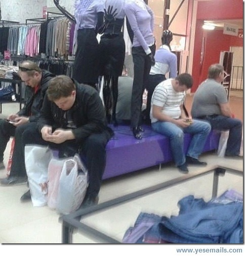 Men Shopping