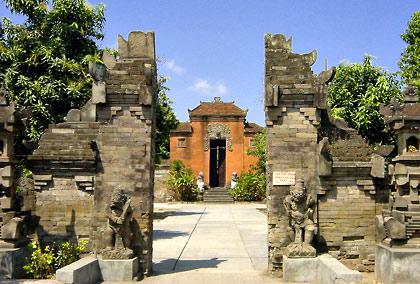 Hindu Temple in a Bali village