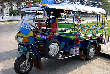 a second tuk tuk