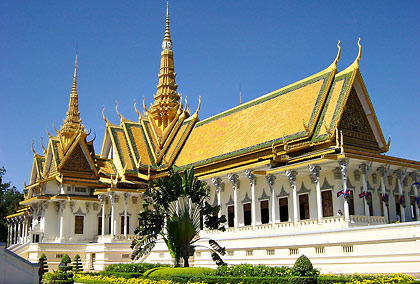 the Throne Hall, Royal Palace complex, Phnom Penh