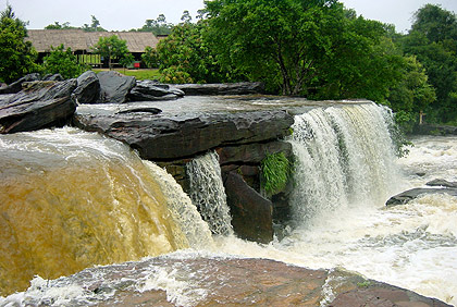 the Kbal Chhay Waterfalls, Sihanoukville