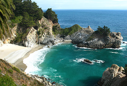 McWay Falls and cove at Julia Pfeiffer Burns State Park, Big Sur