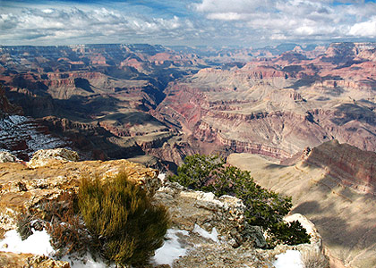 the Grand Canyon viewed from Lipan Point