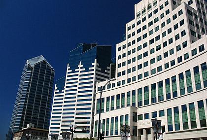 downtown buildings in San Diego