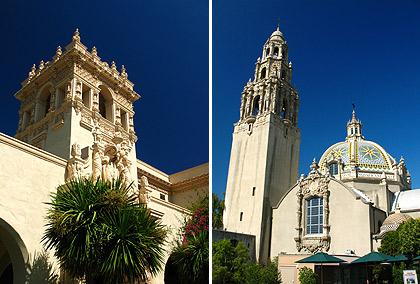 Casa del Prado and the Museum of Man, Balboa Park
