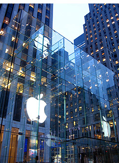 the Apple Store, New York City