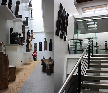 inside view of the BenCab Museum, Tuba, Banguet