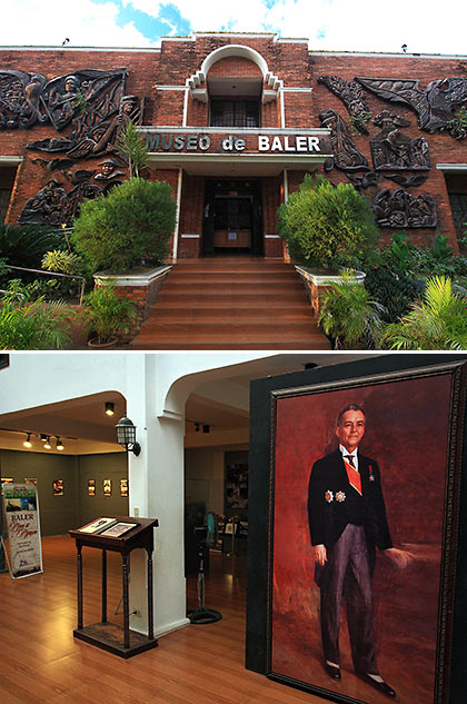 Museo de Baler inside and out
