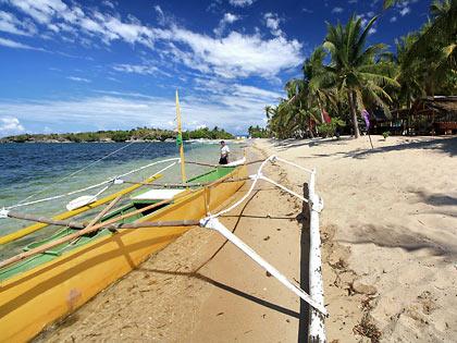 writers' boat at Balinmanok Beach