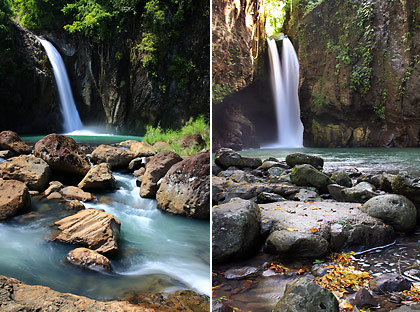 Bagongbong and Tinago Falls, 2 of the waterfalls in Biliran
