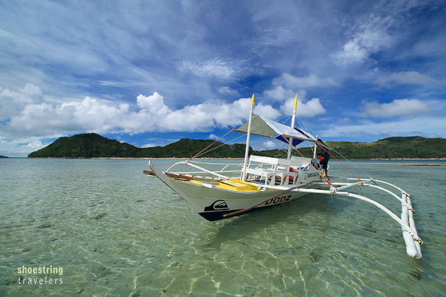 shallow waters off Bulubadiang Island