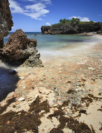 the beach at Cabacungan Cove