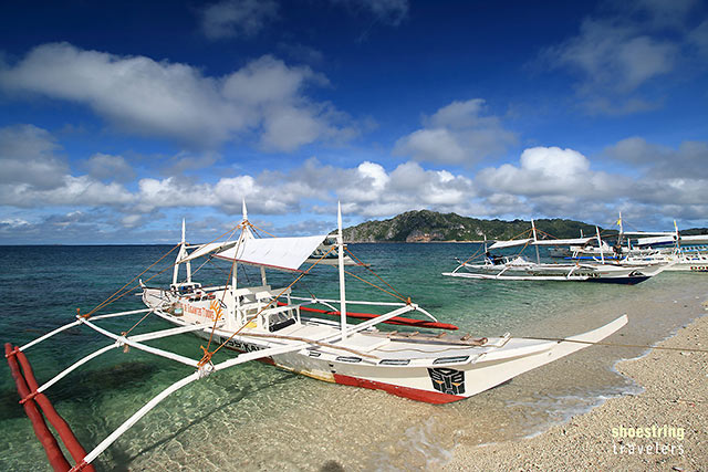 tour boats at Cabugao Gamay
