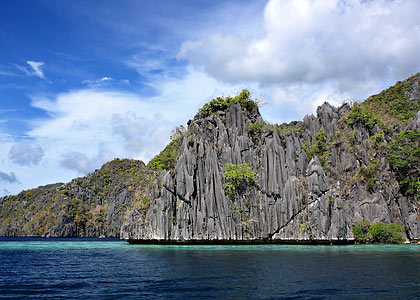 karst tower in Coron Island, picture 2