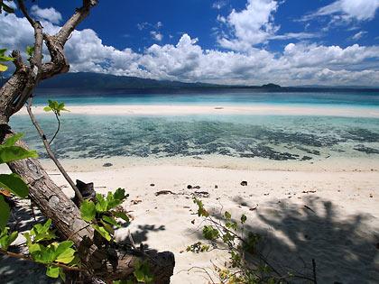 sand bat at Mahaba Island