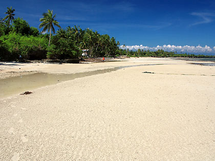 Dumanhog Beach in Siquijor town