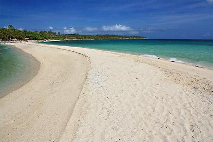 shifting sandbar, Higatangan Island, Biliran