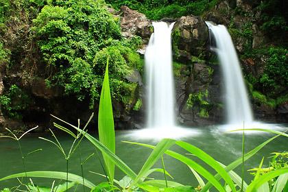 Bunga Falls in Nagcarlan, Laguna