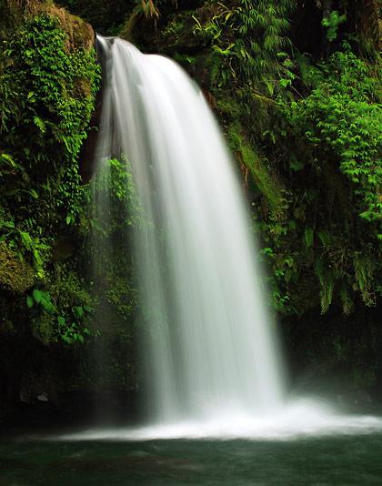 closer view of Taytay Falls, Majayjay