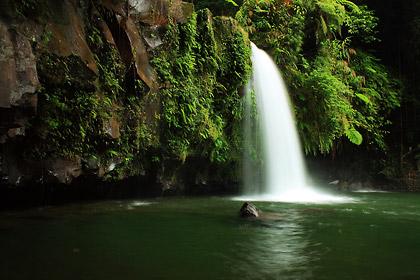 Taytay Falls in Majayjay, Laguna