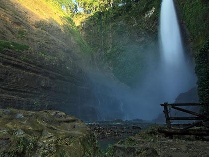 Hikong Bente Falls, Lake Sebu