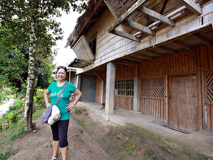 Lang Dulay's Manlilikha ng Bayan Center showcasing T'boli architecture