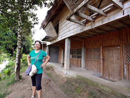 Lang Dulay's Manlilikha ng Bayan Center showcasing T'boli architecture