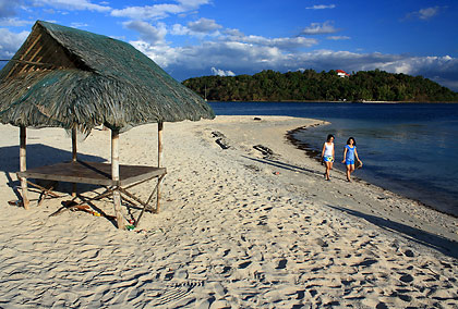 beachfront at Armada Resort, Magalawa Island