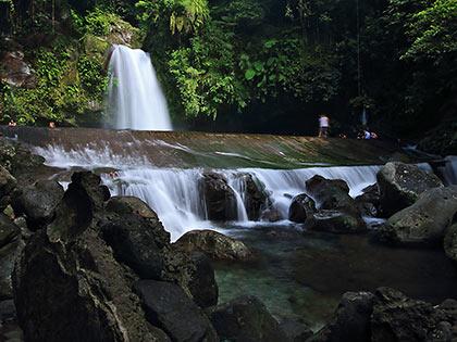 catch basin at Taytay Falls