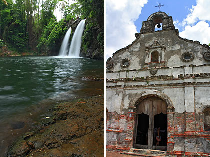 Bunga Falls and Underground Cemetery, Nagcarlan, Laguna