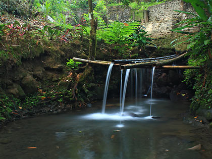 mountain spring at Villa Sotoya Resort