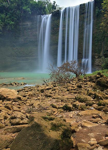 Niludhan Falls in Bayawan City