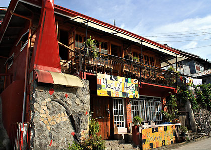 the Yoghurt House near the town center of Sagada