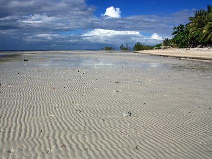 sand ripples at Sandugan Beach, Larena, Siquijor