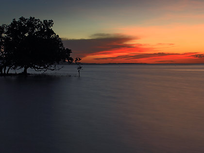sunset at Sandugan Beach, Larena, Siquijor