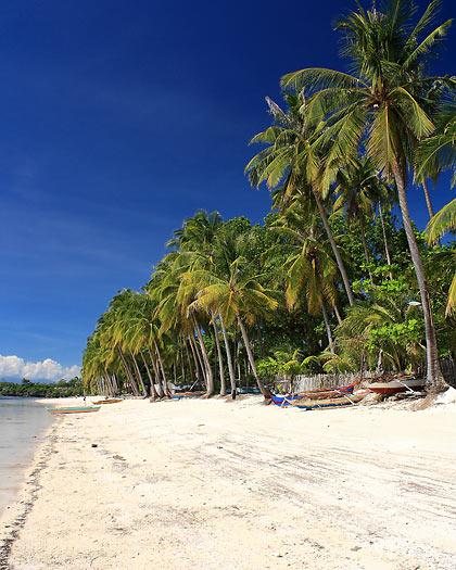 the beach at Coral Cay Resort, San Juan