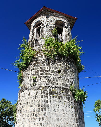 the belfry of the St. Francis of Assisi Church, Siquijor town