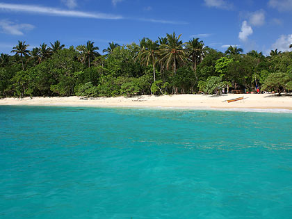 Subic Beach at Calintaan Island, Matnog, Sorsogon