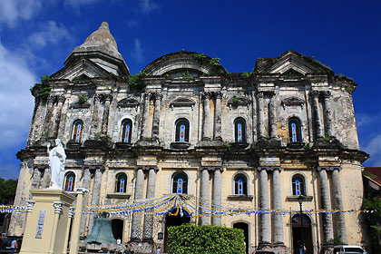 another view of the Basilica of St. Martin of Tours, Taal