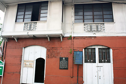 the Don Leon Apacible House-turned museum, Taal