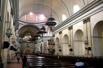 interior of the Basilica of St. Martin of Tours, Taal