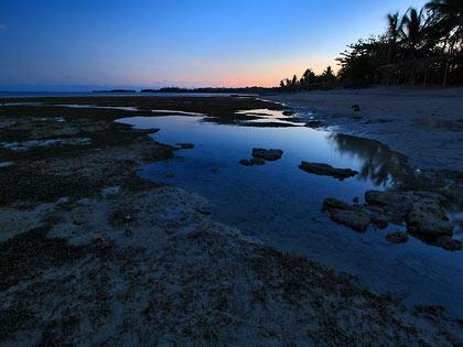 sunset at Tambobong Beach