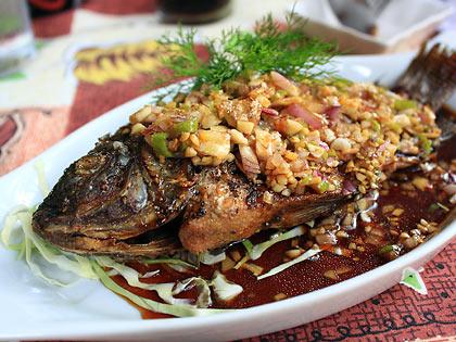Thai Tilapia at Chef Mau