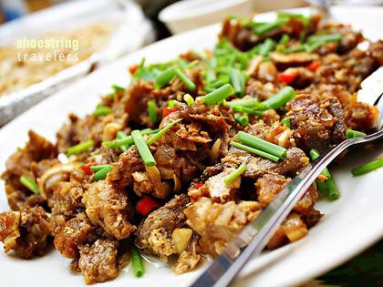 sisig from Pampanga